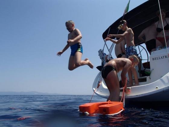 Rejs morski (Włochy, Elba, Korsyka, lipiec 2015)