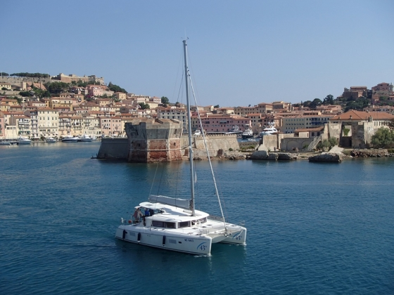 Rejs morski (Włochy, Elba, Korsyka, lipiec 2016)