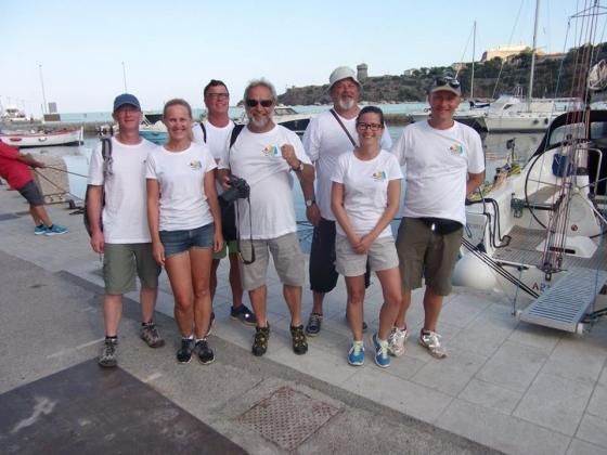 Rejs morski (Włochy, Elba, Korsyka, wrzesień 2016)