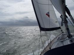 Morze Północne w marcu foto: Piotr Kowalski