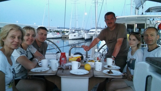 Rejs morski (Chorwacja, lipiec 2017)