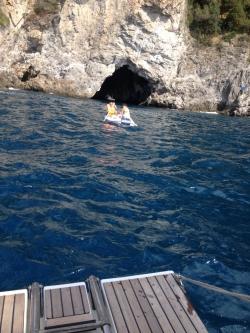 Rejs morski we Włoszech - Wyspy Poncjańskie foto: załoga Miry