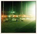 Noc w porcie foto: Peter