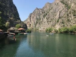 Wąwóz Matka - największa atrakcja Macedonii,foto: