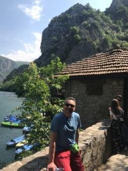 Kanion Matka w Macedonii,foto: Marcin Krukierek