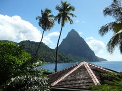 Pierwszy przystanek na naszej trasie - St. Lucia foto: Michał