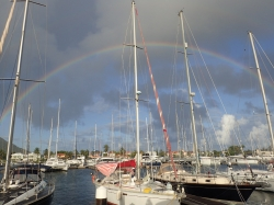 St Lucia marina Rodney Bay foto: Kasia