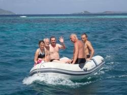 Wyprawa na wyspę Mopion, chyba jedna z najbardziej obfotografowana wysepka foto: Kasia
