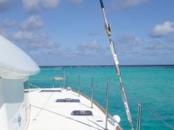 Tobago Cays - największy błękit na Karaibach foto: Kasia & Peter