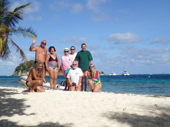 Rejs morski (Karaiby, Wyspy Zawietrzne, listopad 2017)