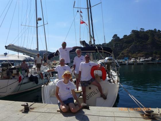 Rejs morski (Włochy, Elba, Korsyka, czerwiec 2017)