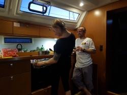 takie normalne jachtowe życie foto: Piotr Śliwiński
