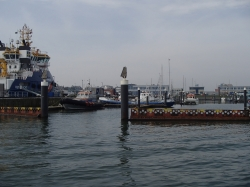 Rejs stażowy na Morzu Północnym, płyniemy do Den Helder foto: Piotr Kowalski