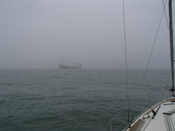 W końcu na pełnym morzu - rejs pływowy foto: Piotr Kowalski