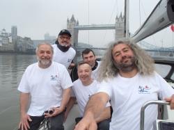 No i jesteśmy pod mostem, w Londynie foto: Piotr Kowalski