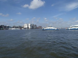 Amsterdam wita, słoneczna pogoda się utrzymała foto: Piotr Kowalski
