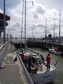 Żegnamy Amsterdam i płyniemy do Lemmer foto: Piotr Kowalski