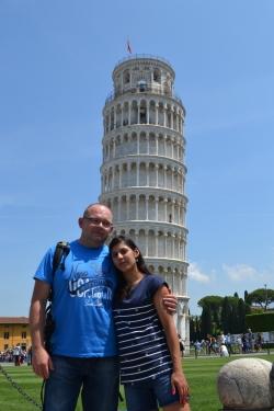 Krzywa Wieża w Pizie foto: Anna Szlósarczyk