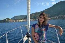 Obieramy kurs na wyspę Giglio foto: Anna Szlósarczyk