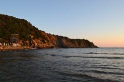 Wyspa Giglio jak zwykle piękna i spokojna  foto: Anna Szlósarczyk