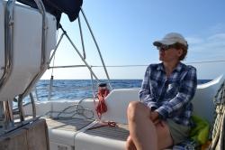 A w morzu jak to w morzu, cały czas coś się dzieje foto: Anna Szlósarczyk