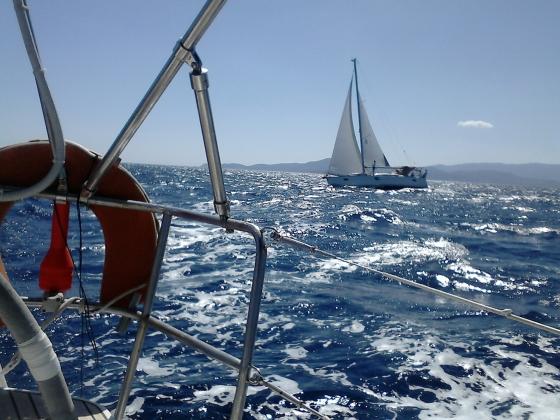 Rejs morski (Grecja, Cyklady, wrzesień 2018)