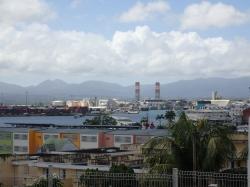 Gwadelupa - widok na port foto: Kasia