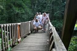 Wycieczka po lesie deszczowym - Gwadelupa foto: Piotr