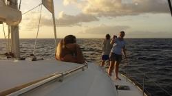 I płyniemy, kierunek Antiqa,foto: Ela