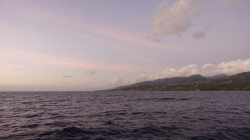 Zachód słońca na Morzu Karaibskim, niezapomniany widok foto: Ela