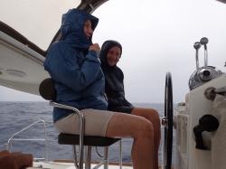 Wyobrażacie sobie, że na Karaibach również pada! foto: Piotr