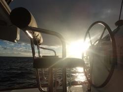Taki tam widoczek z pokładu,foto: Kasia