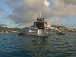 Niesamowicie wygląda ten jacht foto: Piotr