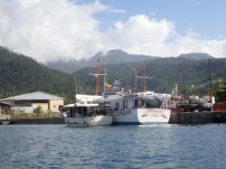 Ostatnia fotka z Dominiki i wracamy na Martynikę foto: Kasia