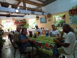 Ostatni kreolski posiłek przed odlotem do Polski :(,foto: Ela