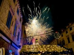 Dubrownik - idealnie przygotował się na imprezę noworoczną,foto: Justyna & Bartosz Kubiczek
