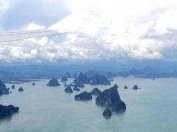 Tajlandia z lotu ptaka, już wiemy że to będą cudowne wakacje | Charter.pl foto: Kasia Koj