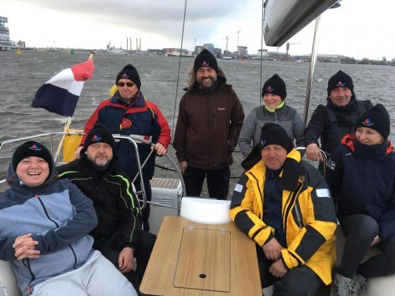 Rejs morski (Morze Północne, Londyn, marzec 2019)