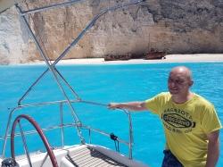 I pan kapitan dał się ustrzelić w zatoce | Charter.pl foto: załoga s/y George