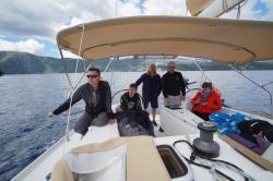 Teraz po zdobyciu zatoki, może spokojnie zacząć żeglować | Charter.pl foto: załoga s/y George