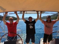Jednak największą frajdę mieliśmy z żeglowania | Charter.pl foto: załoga s/y George