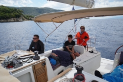 Białe żagle, błękitne morze......nic więcej nam nie potrzeba | Charter.pl foto: załoga s/y George