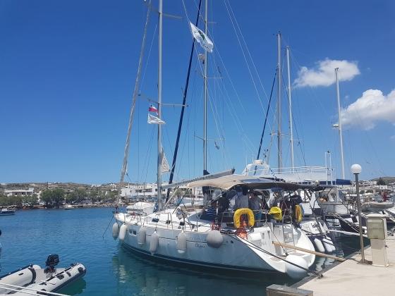 Rejs morski (Grecja, Cyklady, czerwiec 2019)
