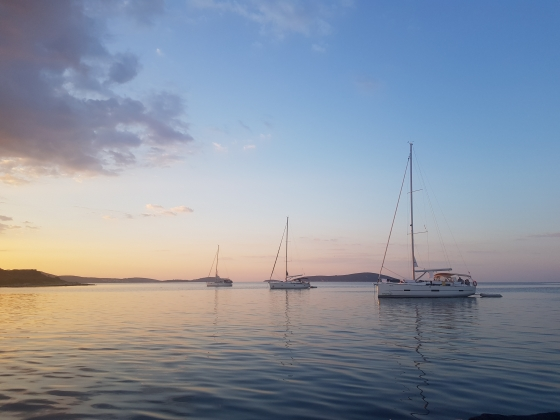 Rejs morski (Chorwacja, październik 2019)