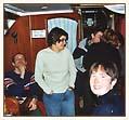Na łodzi przed imprezą foto: Peter
