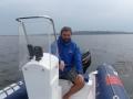 Wodowanie Tornada (Jezioro Łąka 2011)