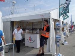 Targi żeglarskie Wiatr i Woda na wodzie, Gdynia 2014 foto:  Kasia