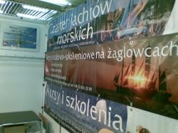 XI Targi Żeglarstwa i Sportów Wodnych BOATSHOW (Poznań 2009) foto: Kasia
