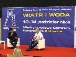 """3. Śląskie Targi Sportów Wodnych i Rekreacji """"Wiatr i Woda"""" w Katowicach foto: Katarzyna Kowalska"""